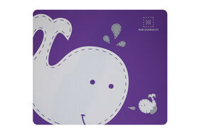 Marcus & Marcus Placemat - Willo the Whale - Purple.