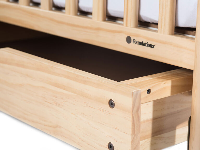 Foundations Next Gen EZ Store Compact Drawer with MagnaSafe Latch, Natural||Foundations Next Gen EZ Store Compact Drawer with MagnaSafe Latch, Natural