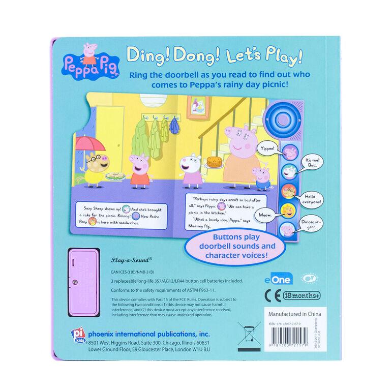 Peppa Pig Petit livre musical à sonnette