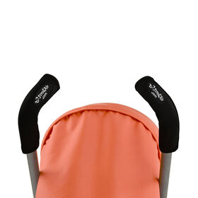 StrollAir Set of two 9 Stroller Handle Sleeves  / Grip Bar Covers
