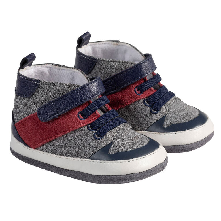 Robeez  - Semelles souples High Top Navy 6-9M