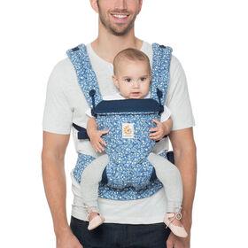 Porte-bébé ergonomique tout-en-un Ergobaby Omni 360 - batik indigo.