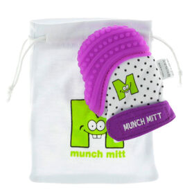 Malarkey Kids - Munch Mitt Teething Mitten - Purple