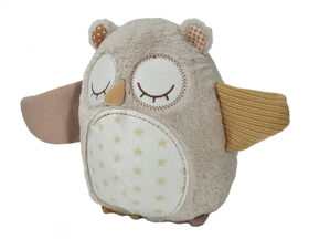 Peluche à 8 Sons Nighty Night Owl Smart Sensor de Cloud B.