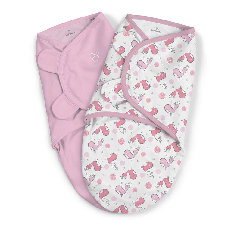 Couverture-sac originale SwaddleMeMD - tweet tweet<br>.