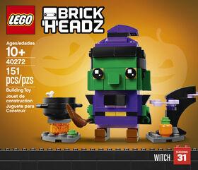 LEGO BrickHeadz Sorcière d'Halloween 40272