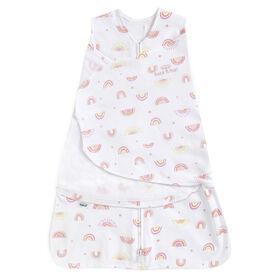 HALO® SleepSack® Swaddle Sunshine Rainbow Pink Small