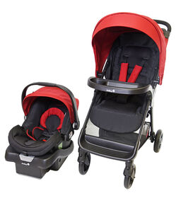 Safety 1st Smooth Ride LX Travel System - Cherry Red