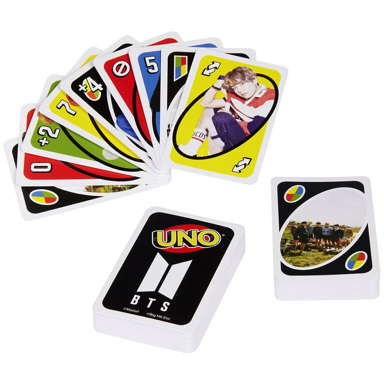 UNO BTS - English Edition