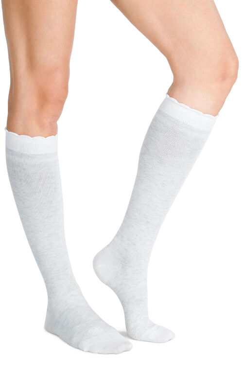 Belly Bandit Compression Socks Dove White Size 2