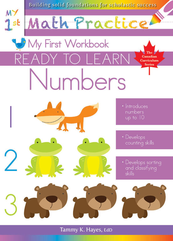 My First Numbers Workbook - English Edition