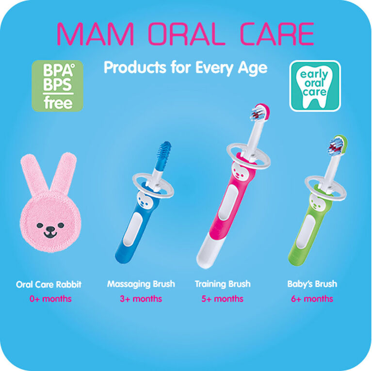 MAM Learn to Brush Set, 5+ Months, 1-Count, Boy
