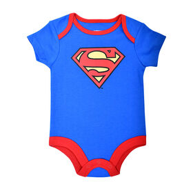 Warner's Superman Bodysuit - Blue, 9 Months