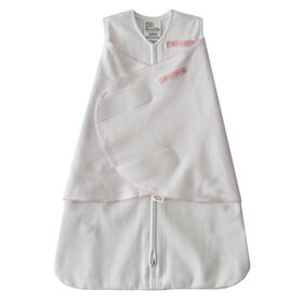 HALO SleepSack Swaddle - Coton - Pink Pin Dot, Nouveau Nee.