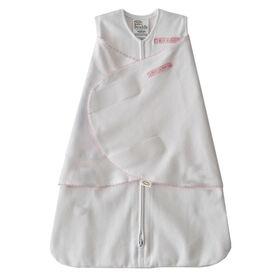 HALO SleepSack Swaddle - Cotton - Pink Pin Dot, Small
