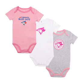 Snugabye - MLB - 3 Pack Body Suit - 6-12 Months