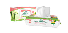 Aleva Naturals Bamboo Sensitive Wipes 72 count