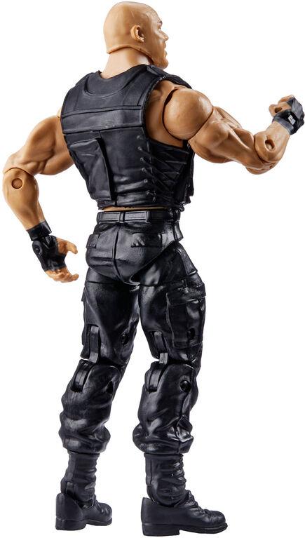 Figurine articulée Collection Elite Fan Central WWE - Kurt Angle.