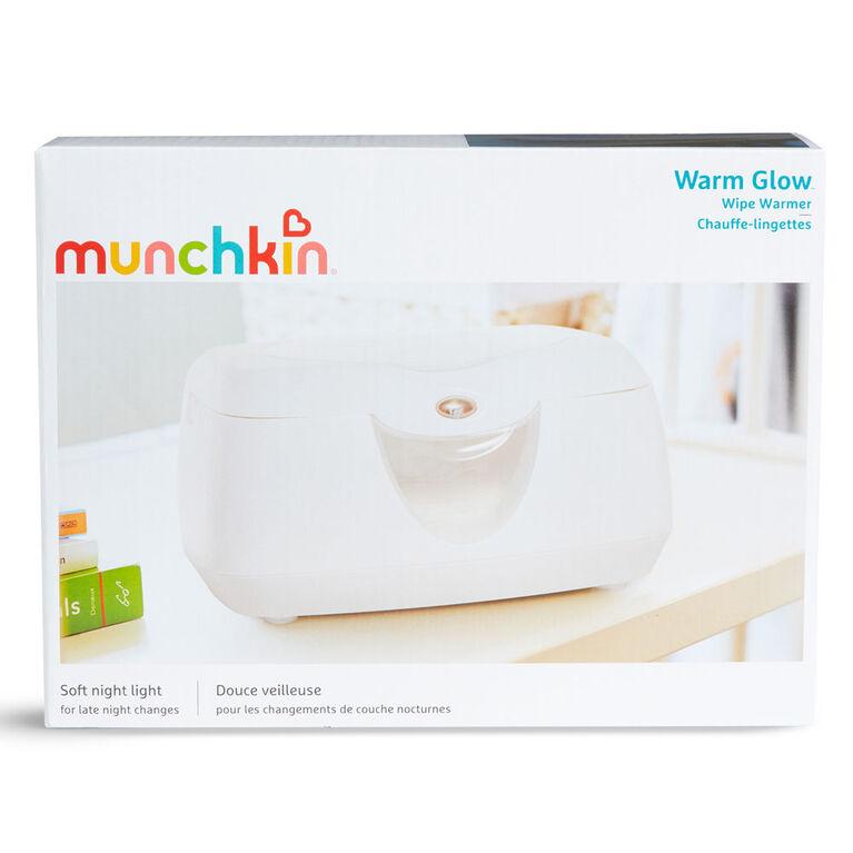 Munchkin - Chauffe-lingettes à éclairage doux.