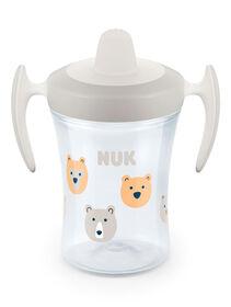 NUK Evolution Soft Spout Learner Cup 8 oz. - Clear