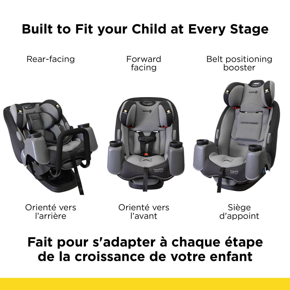 Safety 1st EverFit 3-in-1 Car Seat with