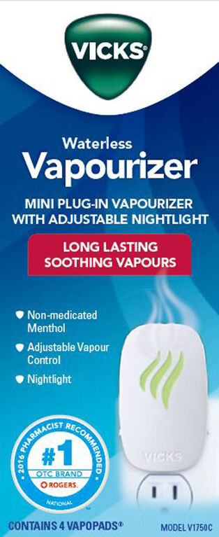 Vicks Advanced Waterless Vapourizer Plug In