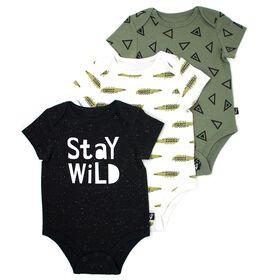 Mini Heroes 3-Pack Bodysuits - 9 Months