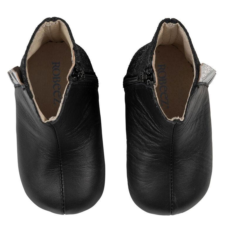 Robeez - First Kicks Madison Black 0-3M