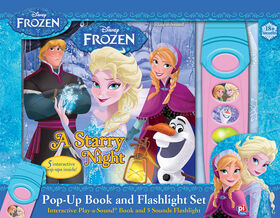 Frozen II Flashlight Sound Book - English Edition