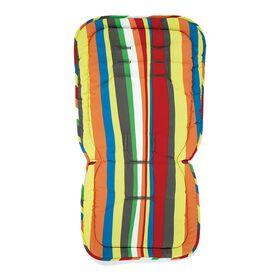 Doublure d'assise réversible pour poussette Mamas & Papas - Rayures ondulées.
