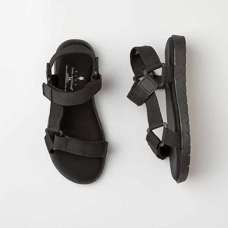 odyssey sandal, size 5 - black