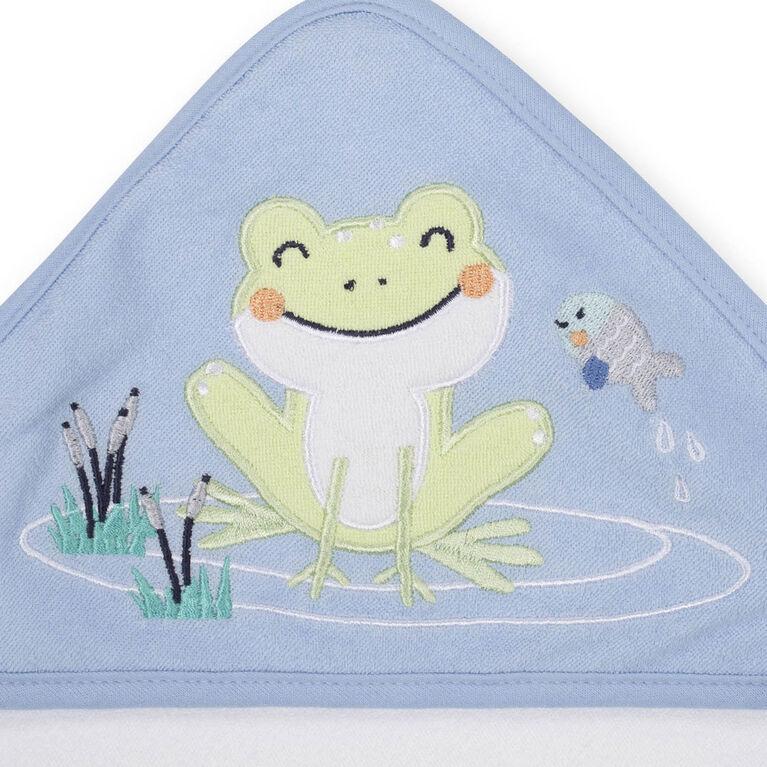 Capes de bains de Koala Baby paquet de 3 bleu.