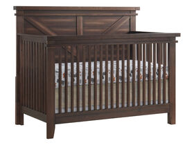 Oxford Baby - Madison Crib- Farm House Brown