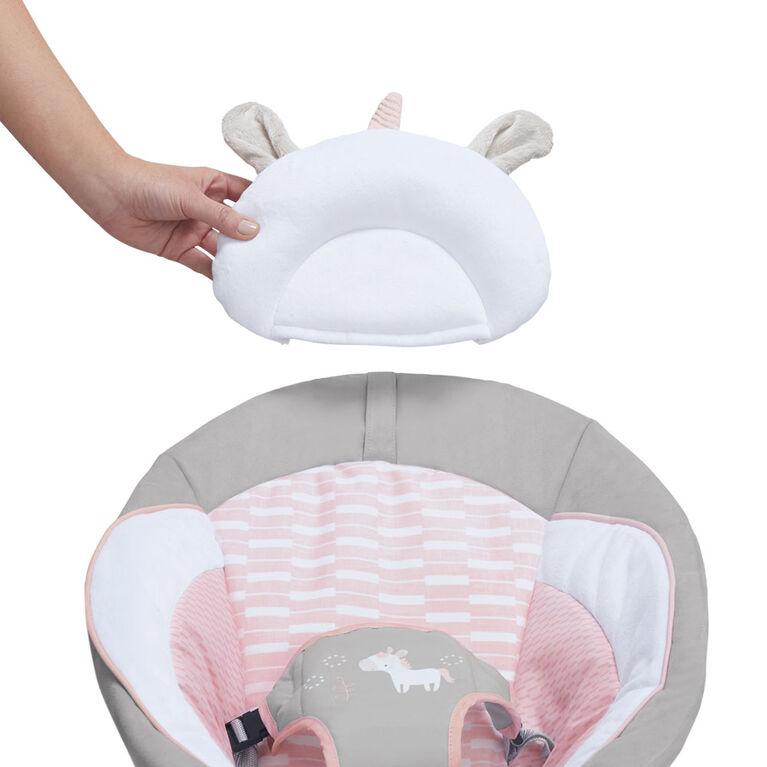 Cradling Bouncer - Flora the Unicorn