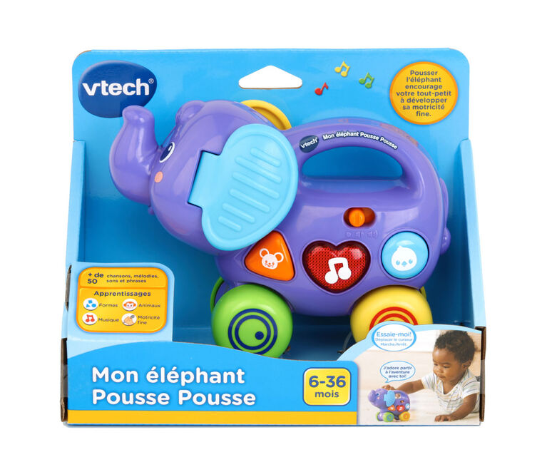 Push and Explore Elephant