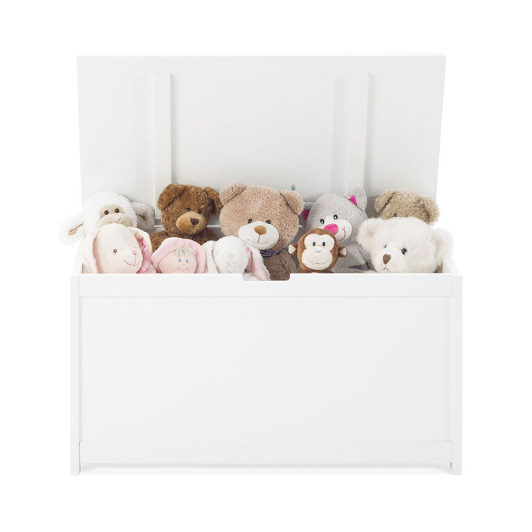 Forever Eclectic by Child Craft - Harmony Toy Chest - Matte White