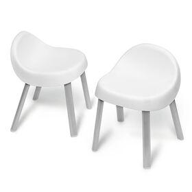 Skip Hop Explore & More Kid Chairs - White