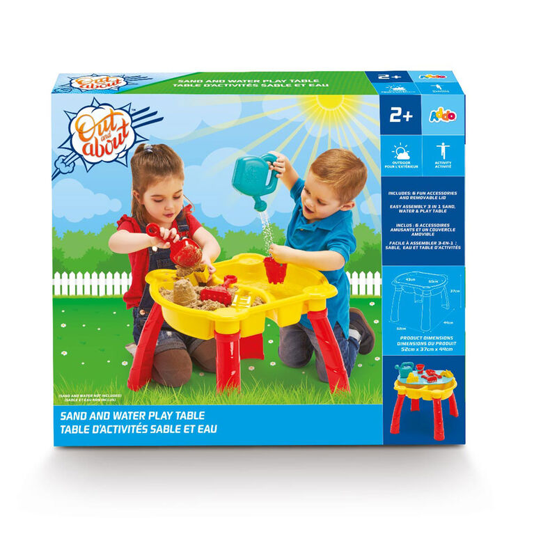 Out and About - Sand And Water Table - R Exclusive