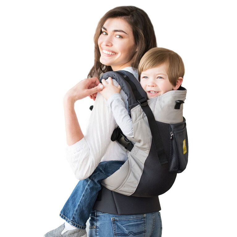 Lillebaby Carrier - CarryOn - Airflow - Charcoal and Silver