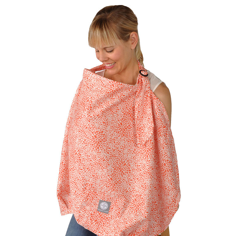 Balboa Baby Nursing Cover Coral Bloom Babies R Us Canada