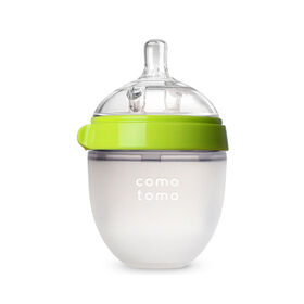 Comotomo - Natural Flow Bottle - 150ML - Green.