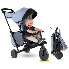 smarTrike STR7 - tricycle pliant bébé - Denim