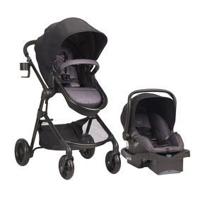 Evenflo Pivot Modular Travel System with LiteMax Infant Car Seat - Casual Gray