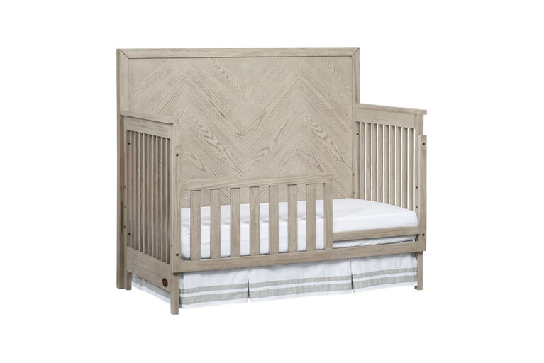 Oxford Baby Manhattan 4 in 1 Convertible Crib Champagne Mist - R Exclusive