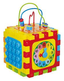 Imaginarium Baby - Cube de jeux 6-en-1