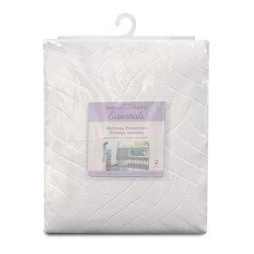Koala Baby - Waterproof Mattress Protector 2 Pk - White
