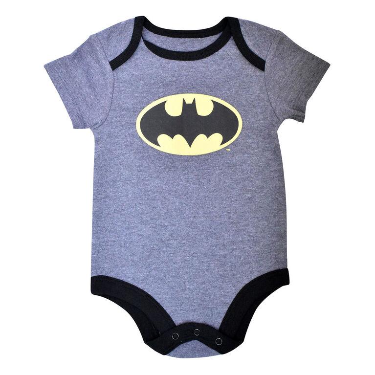 Warner's Batman Bodysuit - Grey, 18 Months
