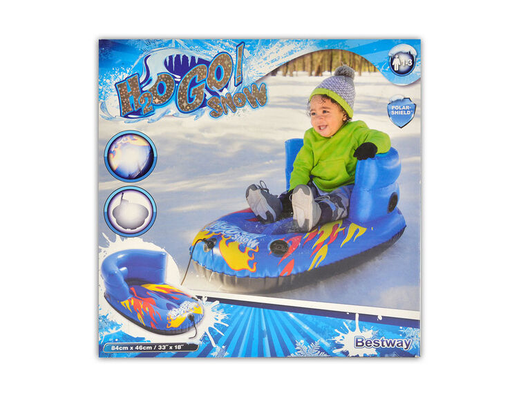Inflatable flurryz child sled