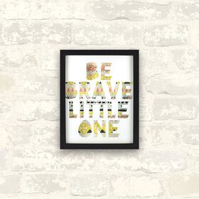 Be Brave Little One Wall Art||Be Brave Little One Wall Art