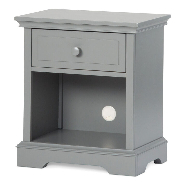 Child Craft Camden Universal Select Ready to Assemble Night Stand - Cool Gray